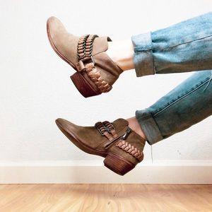 Sam Edelman | 🍪 Braded Leather Booties